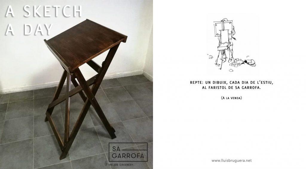 Una proposta i alhora un repte del Dibuixant Lluís Bruguera.