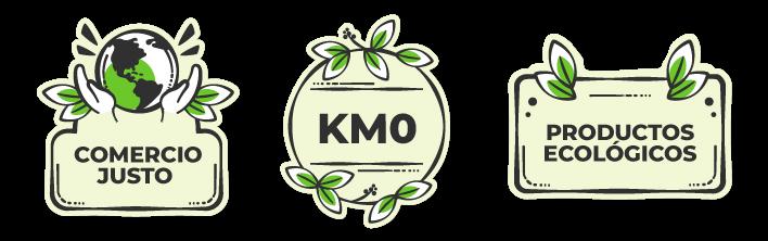 Kilómetro 0 - Productos ecológicos - Comercio justo
